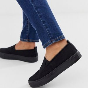 ASOS New Men's Canvas Slip On Shoes